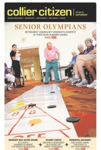 Collier Citizen - Olympics Front Page